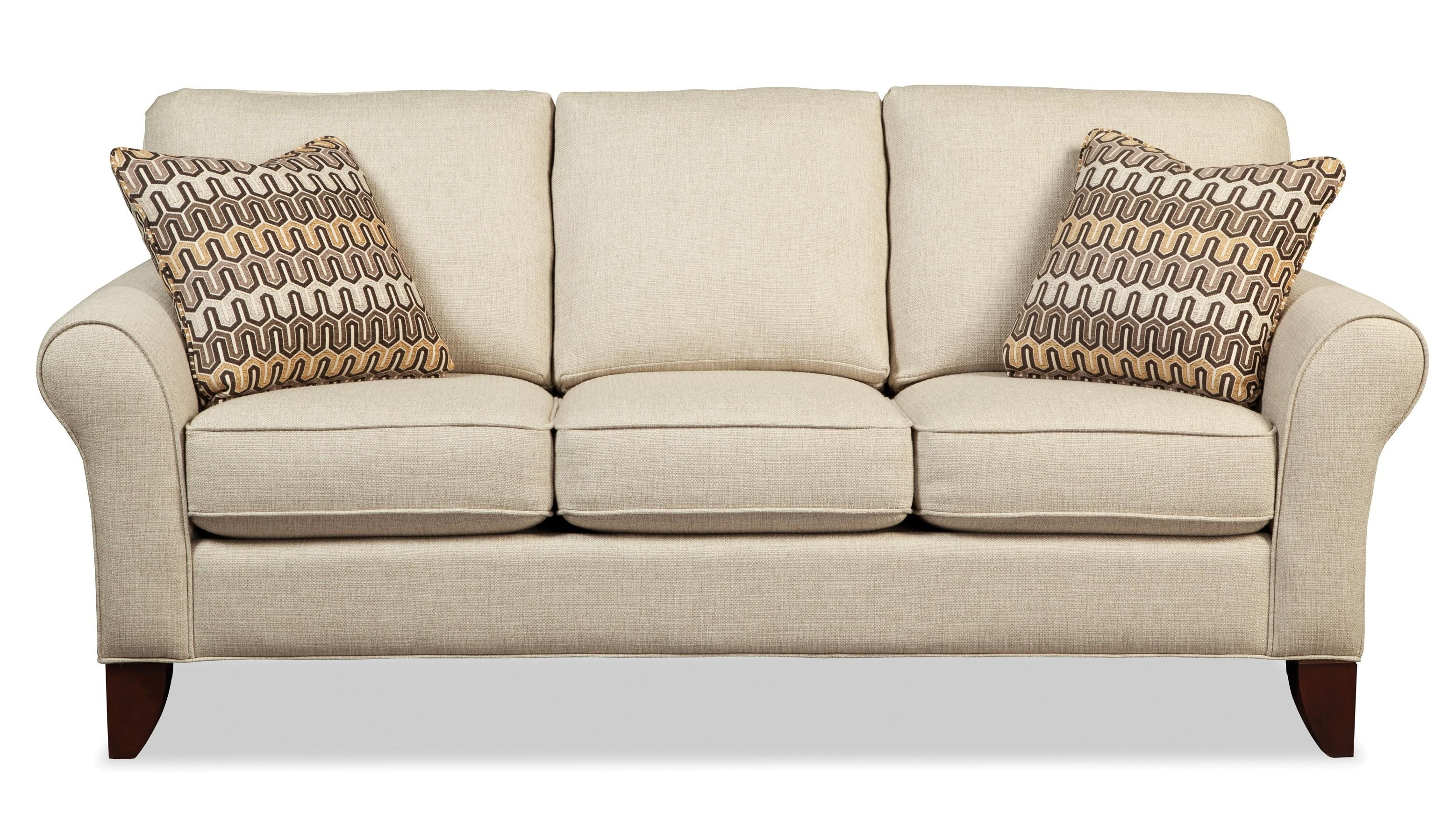 Craftmaster 7551 755150 Transitional Small Scale Sofa | Becker Furniture  World | Sofas