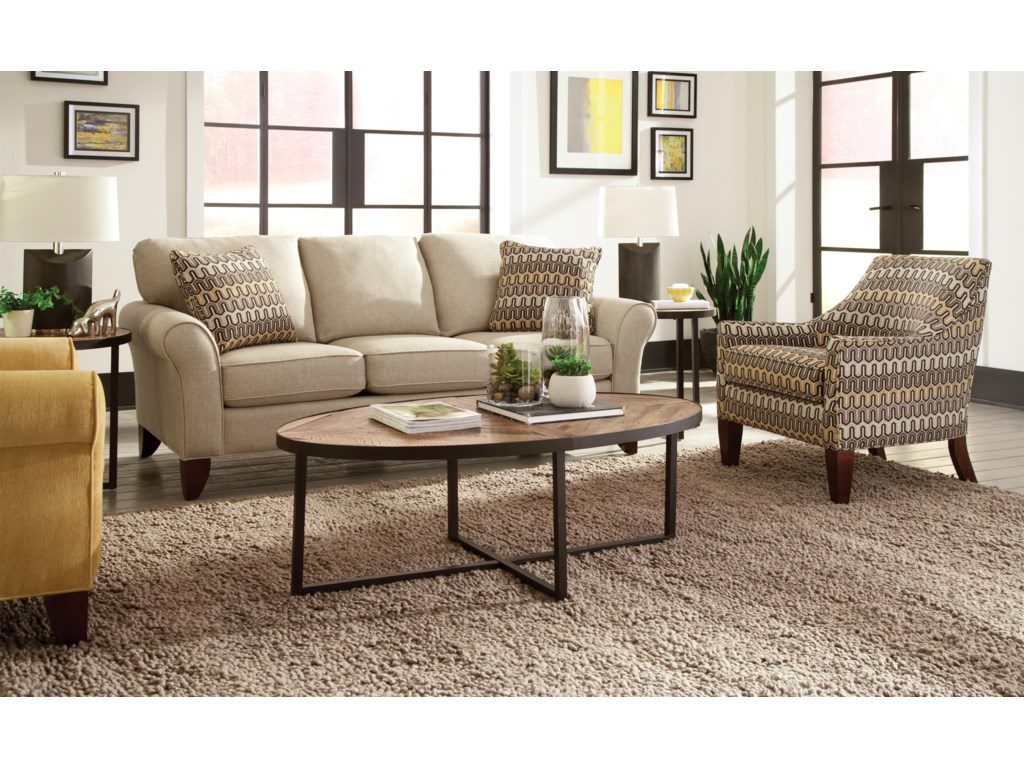 Hickory Craft 7551Sofa