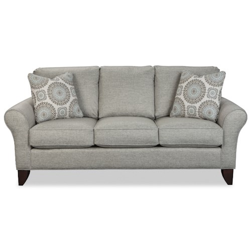 Craftmaster 7551 Transitional Small Scale Sofa