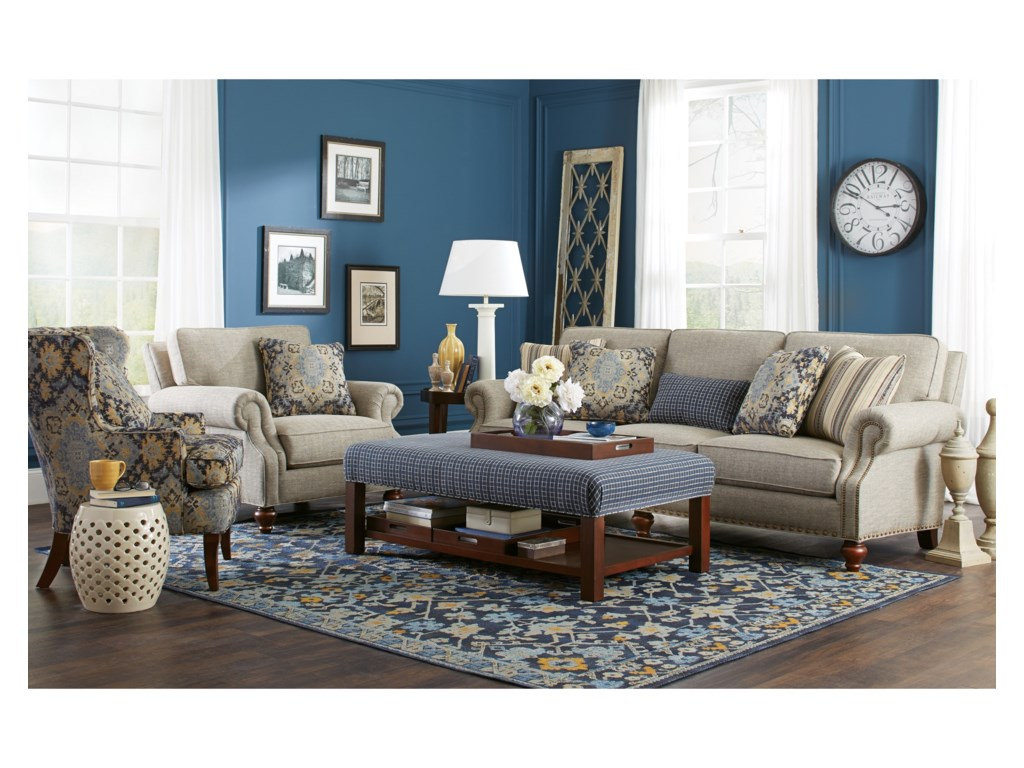 Craftmaster 7623Living Room Group