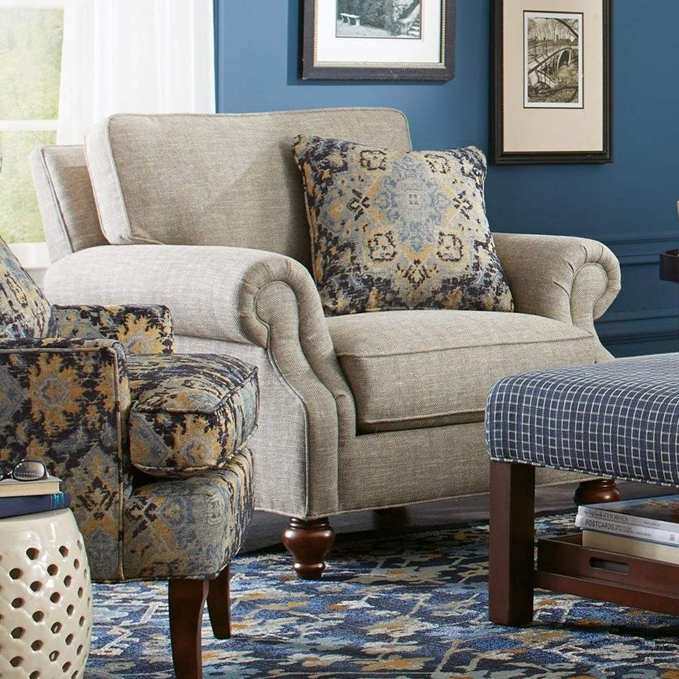 Craftmaster 7623 Traditional Chair | Bullard Furniture | Upholstered Chairs  Fayetteville, NC