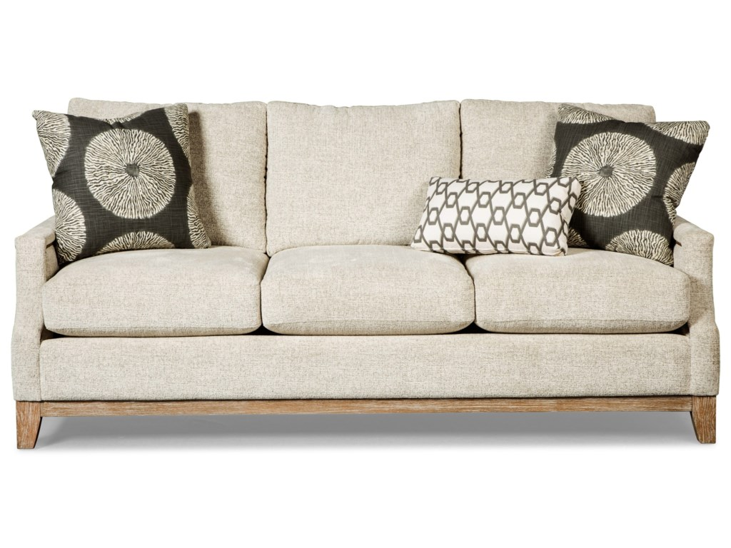 Craftmaster 765700-766000Sofa w/ Brass Nails