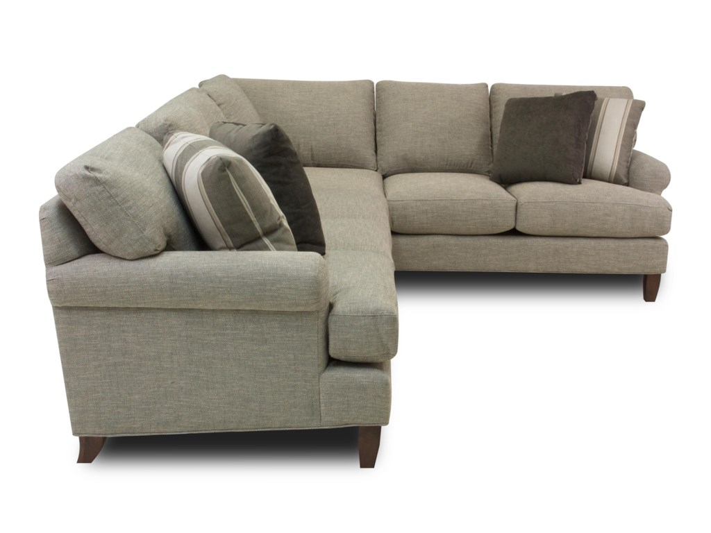 Hickory Craft Latte2-Piece Sectional