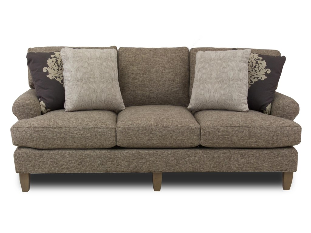 Hickory Craft LatteSofa (No Nailheads)