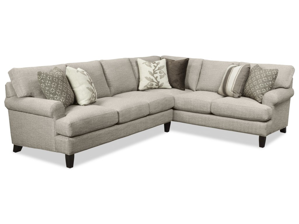 Craftmaster 767350-767450-767550-7676502 Pc Sectional Sofa w/ RAF Corner Sofa