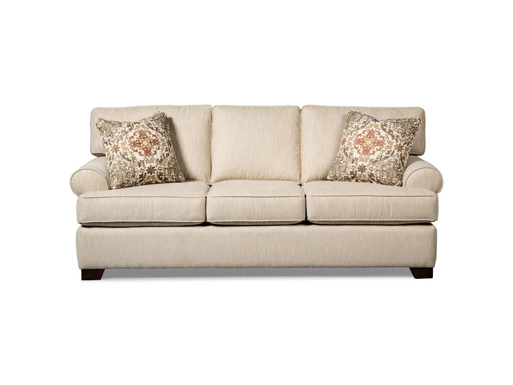 Craftmaster 767750Queen Sleeper Sofa w/ MemoryFoam Mattress
