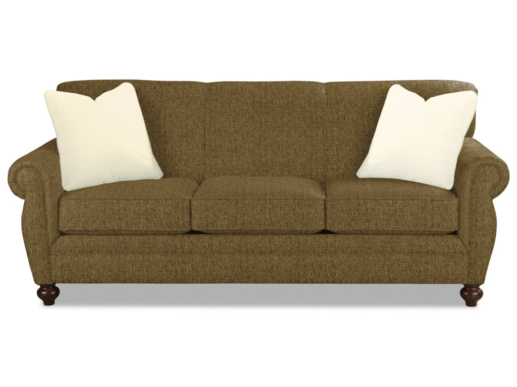 Craftmaster 7679Sleeper Sofa w/ Memory Foam Mattress
