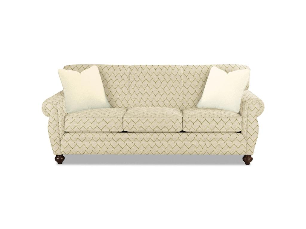 Craftmaster 7679Sleeper Sofa w/ Memory Foam Mattress