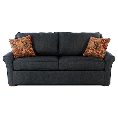 Cozy Life Revolution Transitional Queen Sleeper Sofa w/ Innerspring Mattress & Revolution Performance Fabric