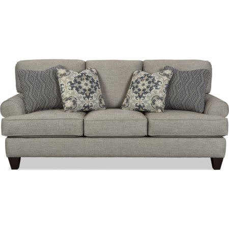 Queen Sleeper Sofa w/ MemoryFoam Mattress
