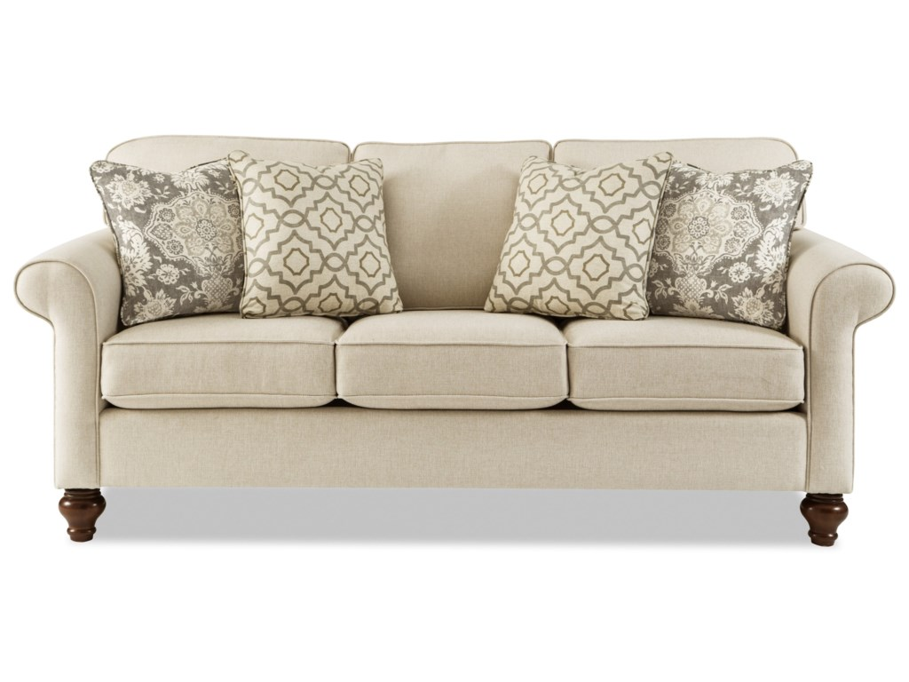Craftmaster 773850MemoryFoam Queen Sleeper Sofa