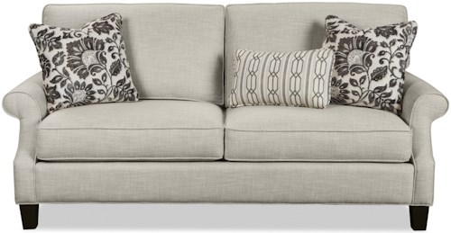 Craftmaster 7745 Casual Two Over Two Cushion Sofa