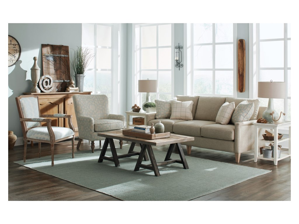 Craftmaster 776650-776750Apartment Sofa