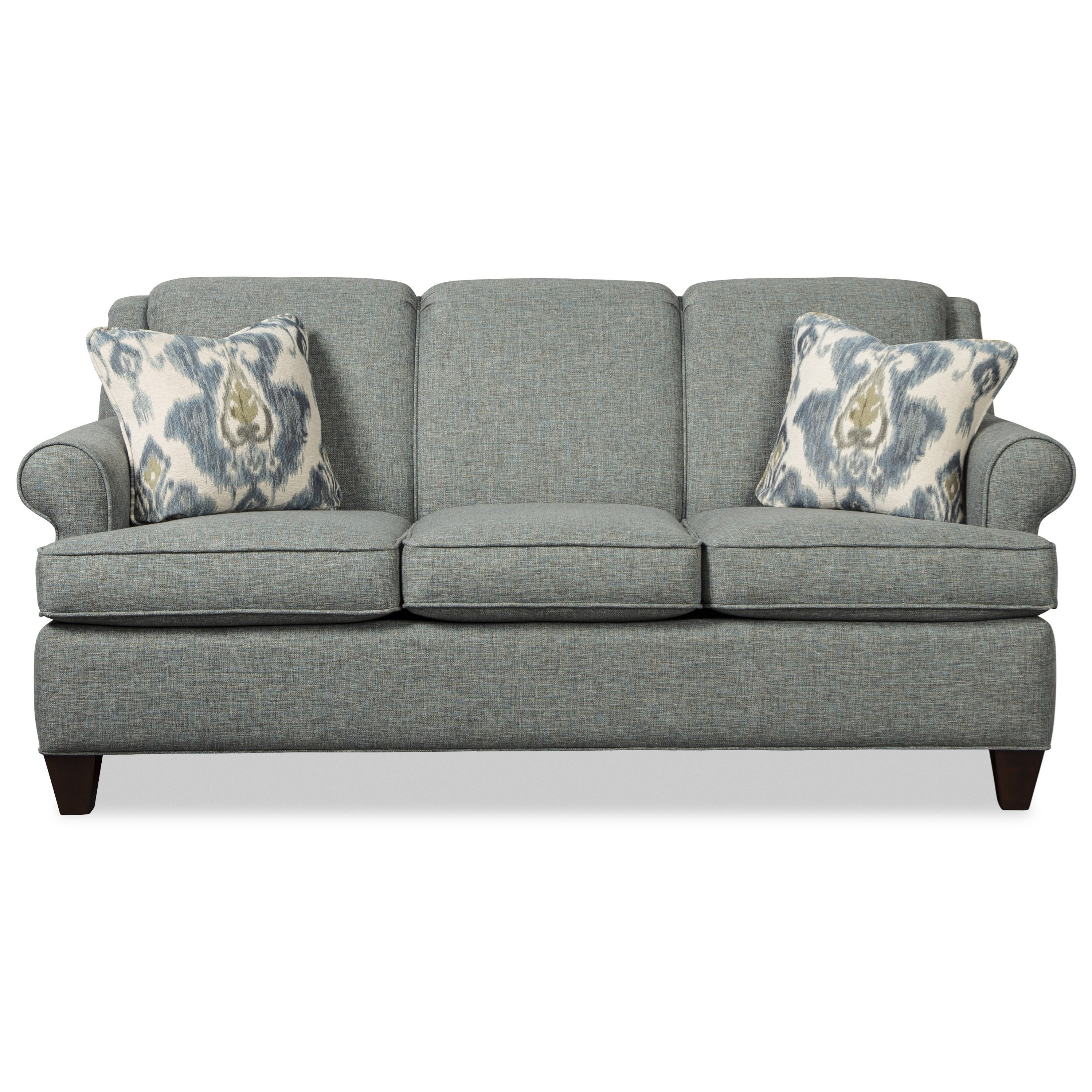 - Hickorycraft 781850 Transitional 73 Inch Sleeper Sofa With Full