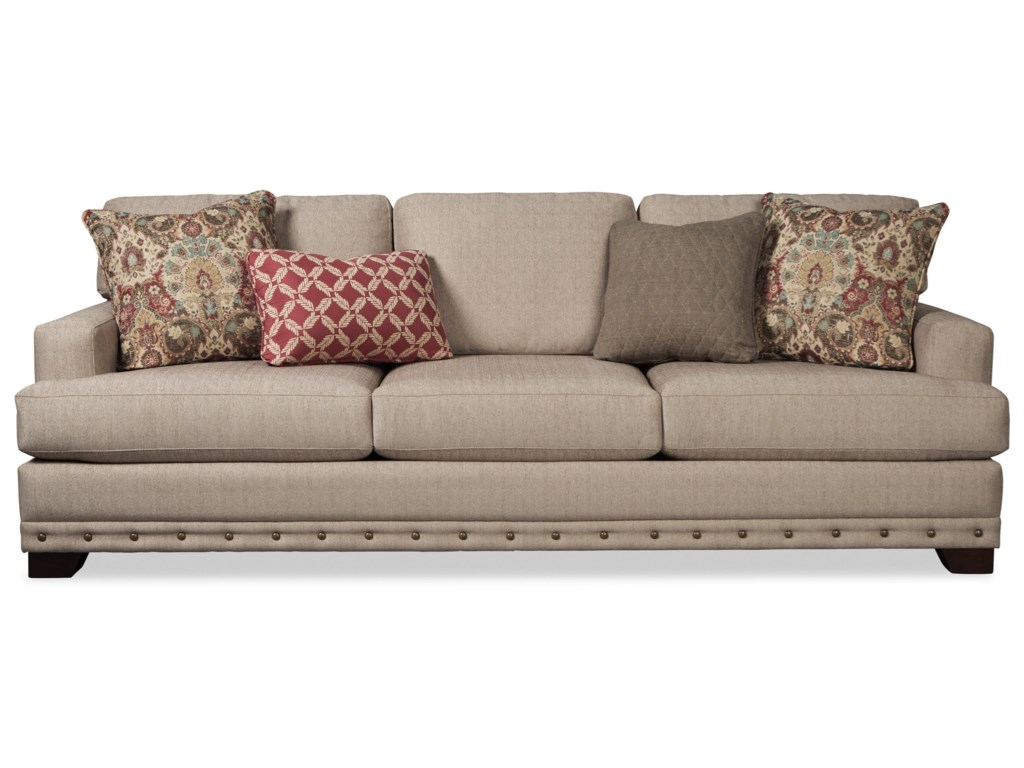 Craftmaster 782750Sofa (With Nailheads)