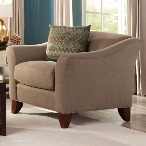 Cozy Life Townhouse Contemporary Upholstered Chair