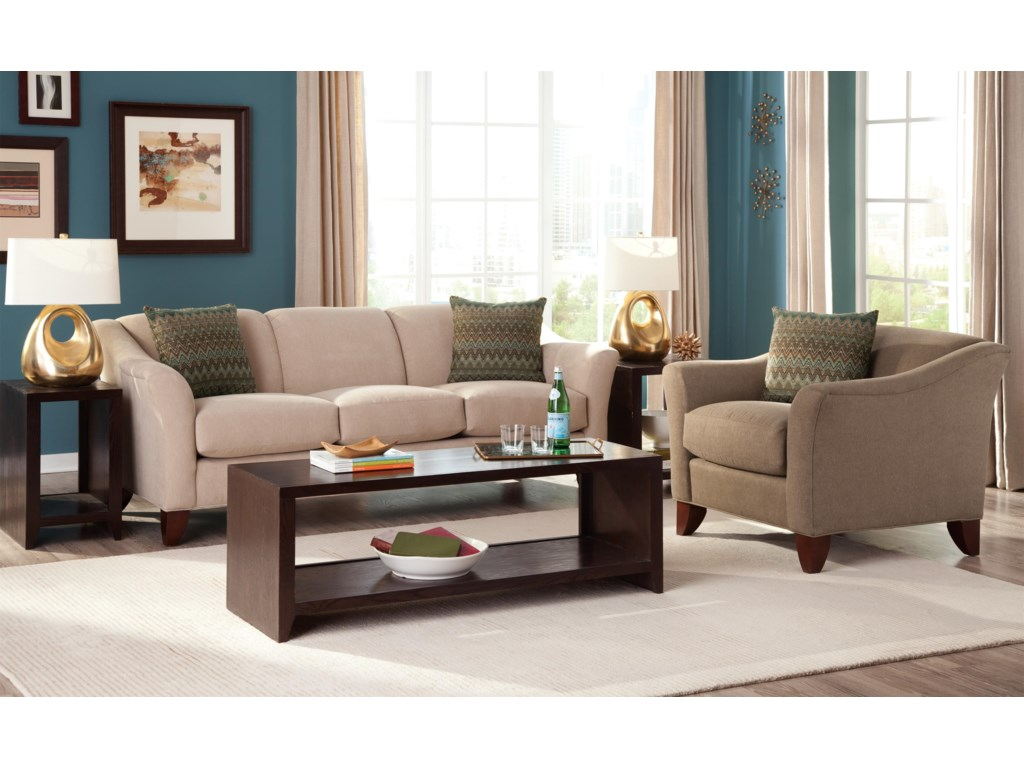 Craftmaster 7844Stationary Sofa