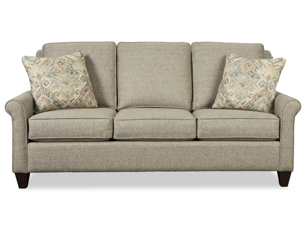 Craftmaster 784850Queen Sleeper Sofa w/ MemoryFoam Mattress