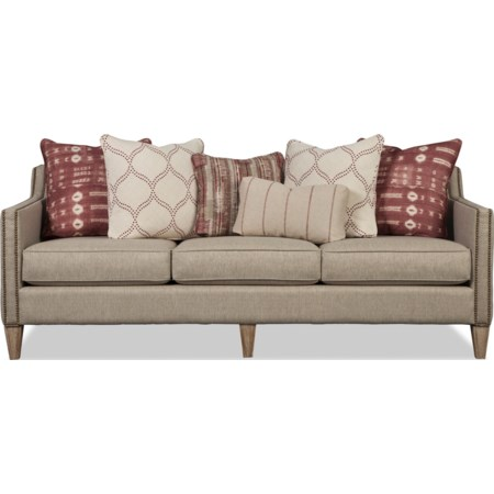 Sofa w/ Weathered Oak Legs