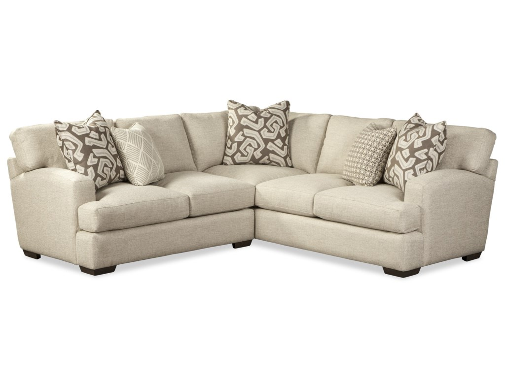 Craftmaster 7853504-Seat Sectional Sofa