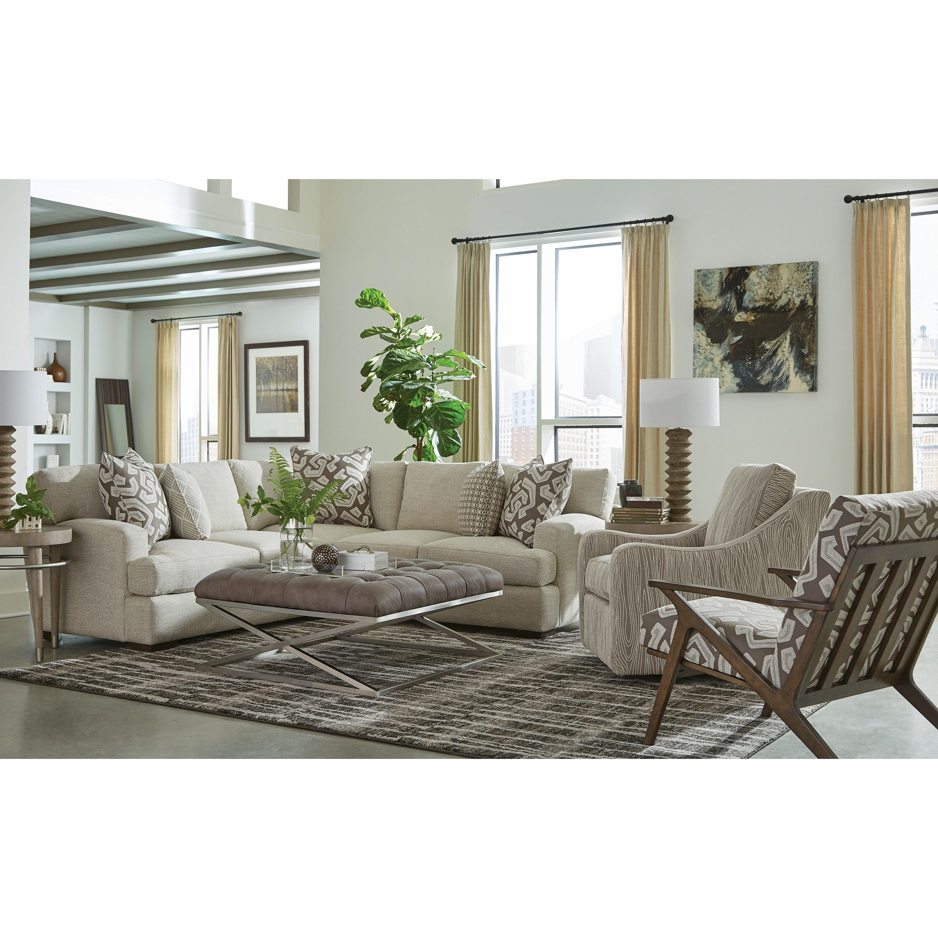 785350 4 Seat Sectional Sofa