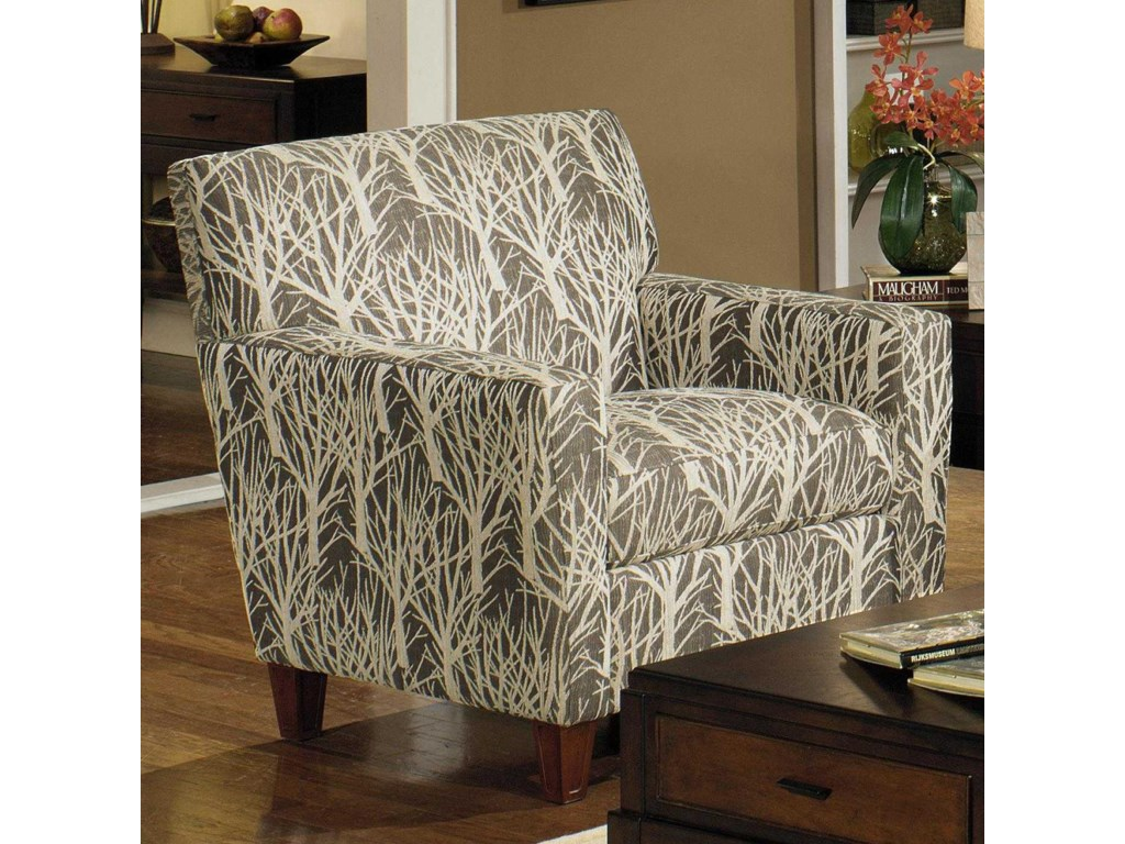 Craftmaster 7864 786410 Contemporary Chair | Becker ...