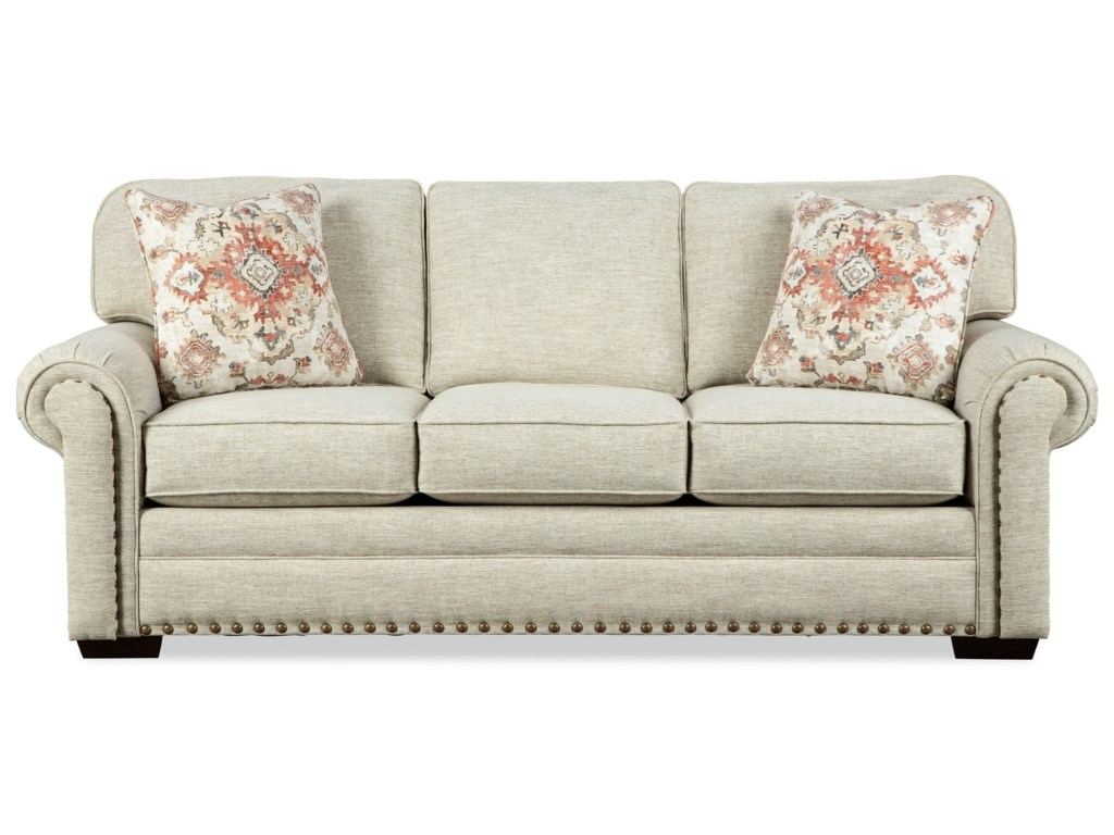 Craftmaster 787150Memory Foam Sofa Sleeper