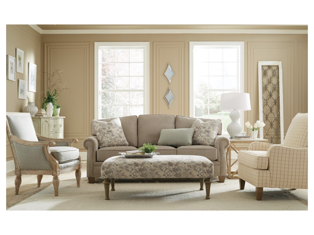 Hickorycraft 787850Queen Sleeper Sofa