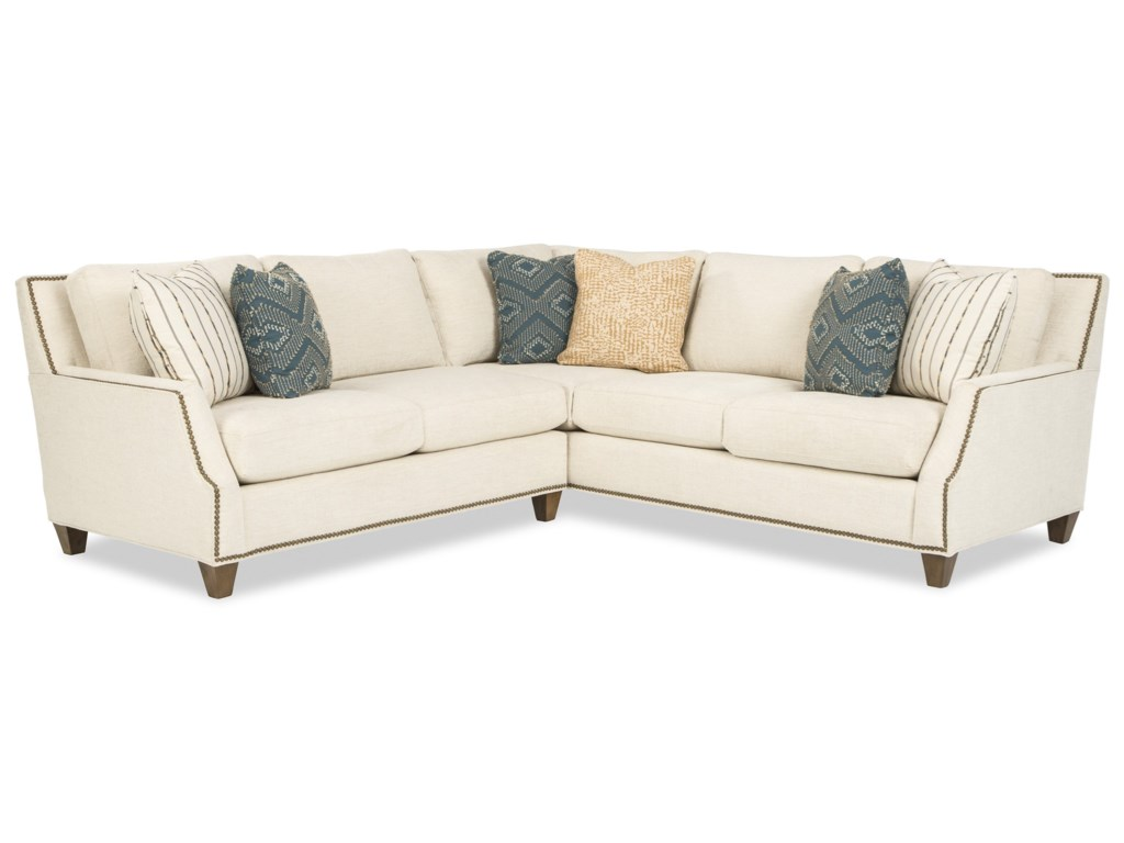 Craftmaster 7903504-Seat Sectional Sofa