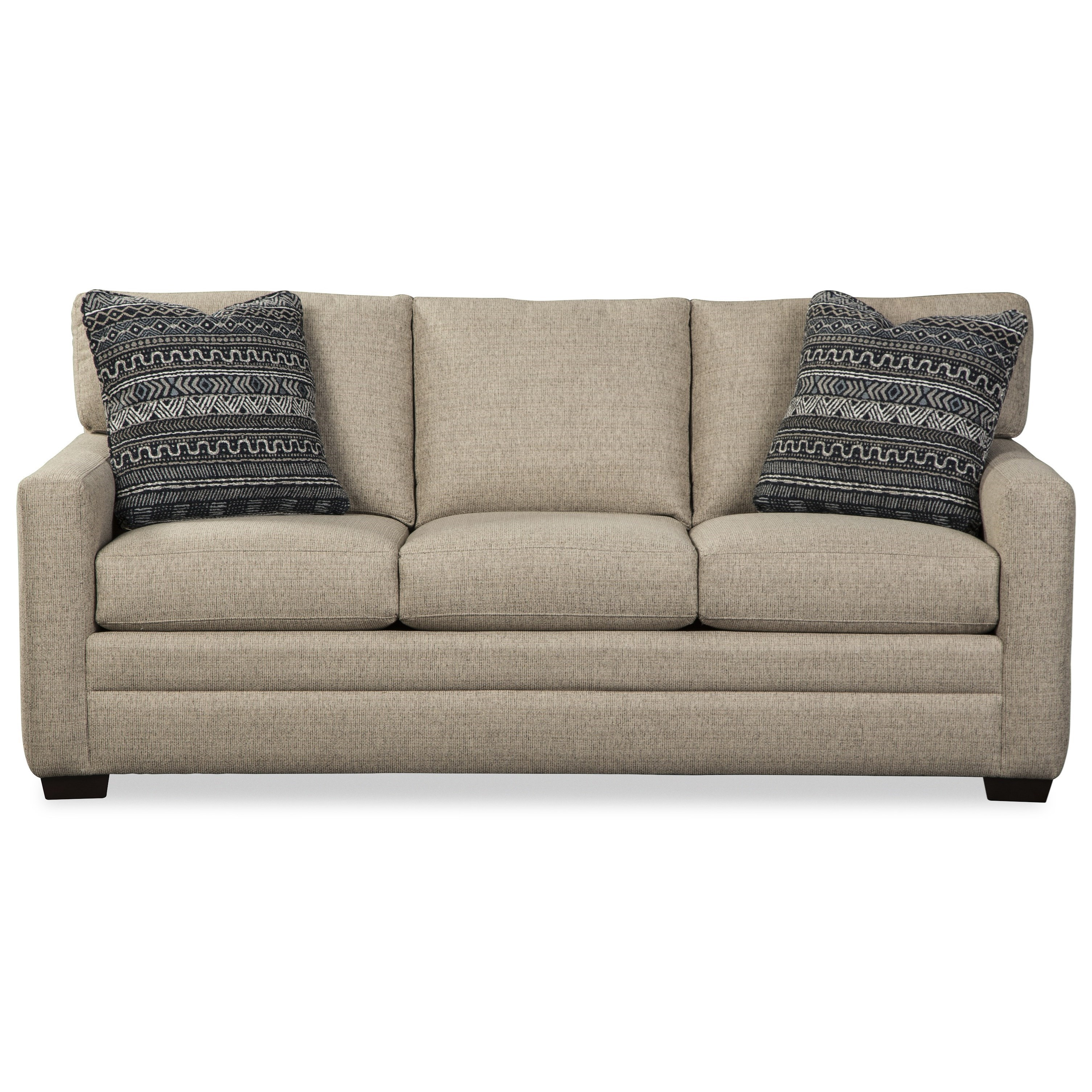 Contemporary Apartment Sofa with Queen Sleeper