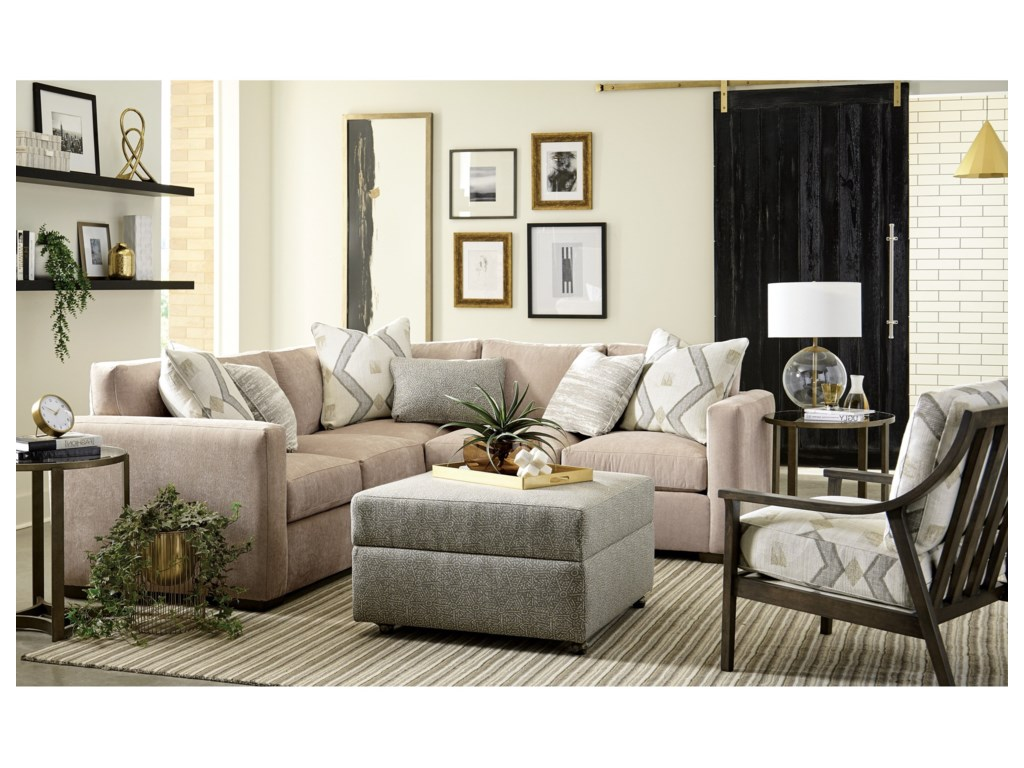 Craftmaster 792750BD2-Piece Sectional with LAF Corner Sofa