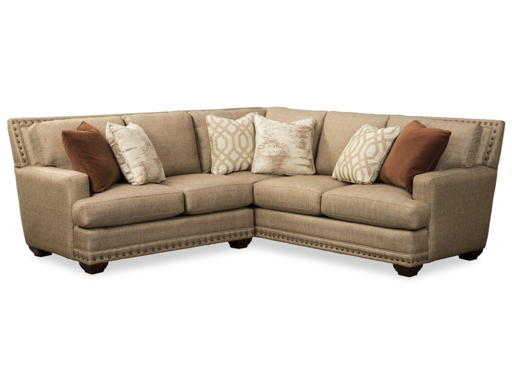 Craftmaster 793651BD4-Seat Sectional Sofa