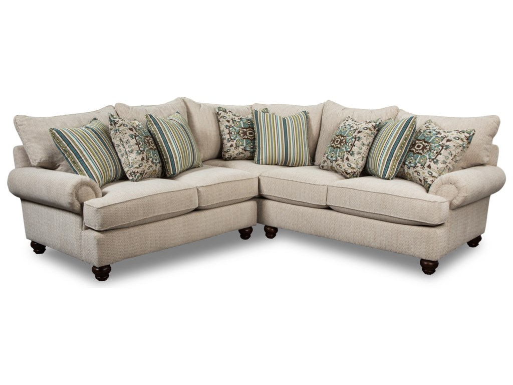 Craftmaster 797050BD4-Seat Sectional Sofa