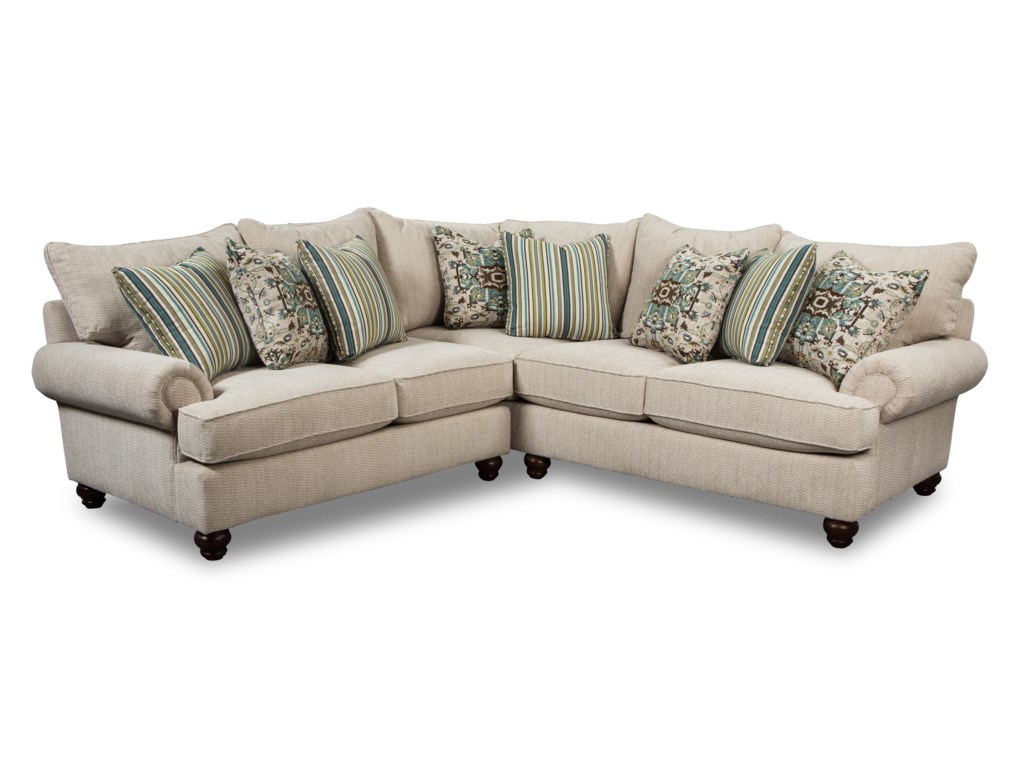 Craftmaster 79702 Pc Sectional Sofa