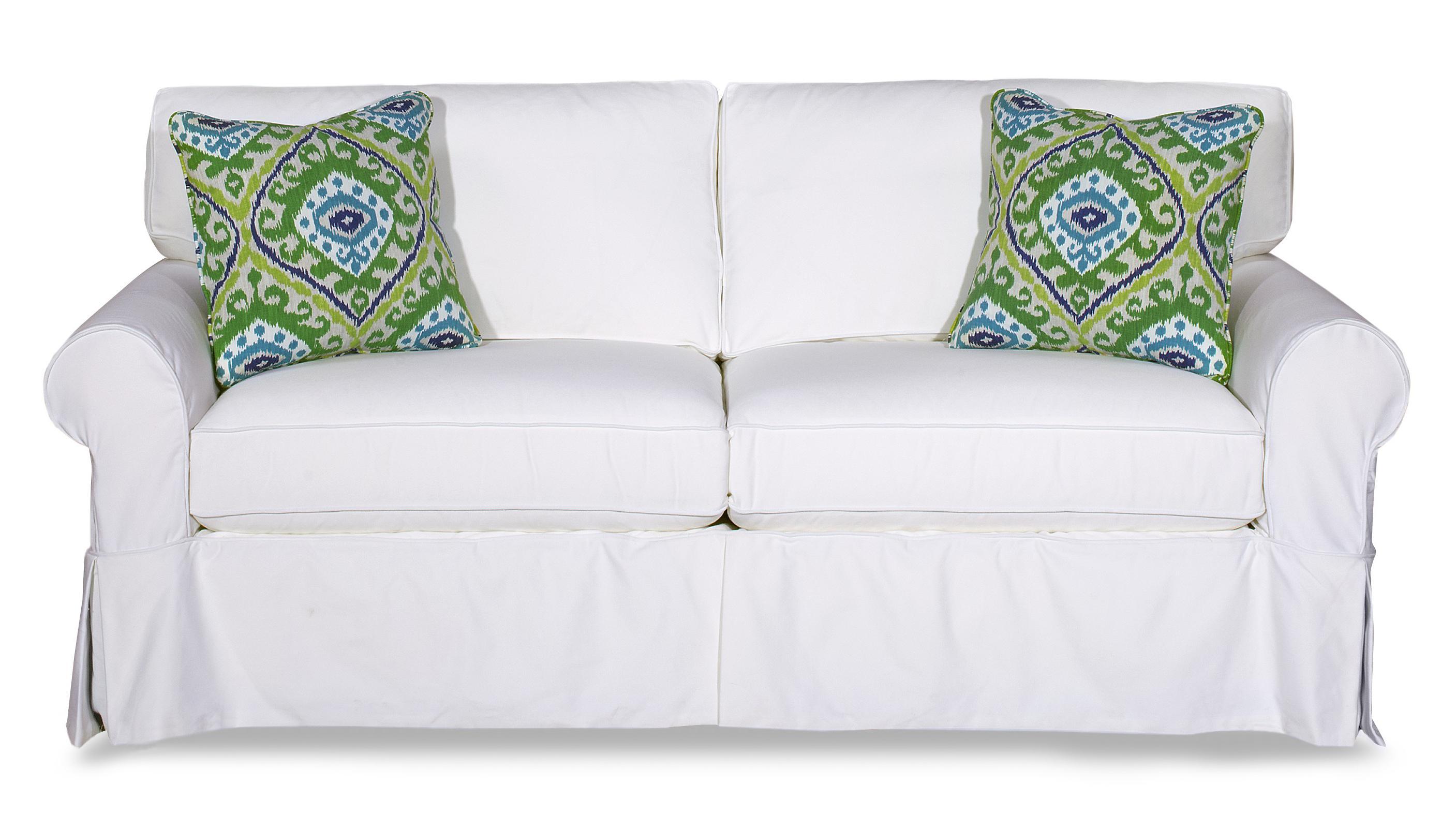Craftmaster 9228Sleeper Sofa W/ Memory Foam Mattress ...
