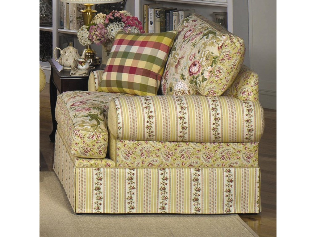 Craftmaster 9535Skirted Chair