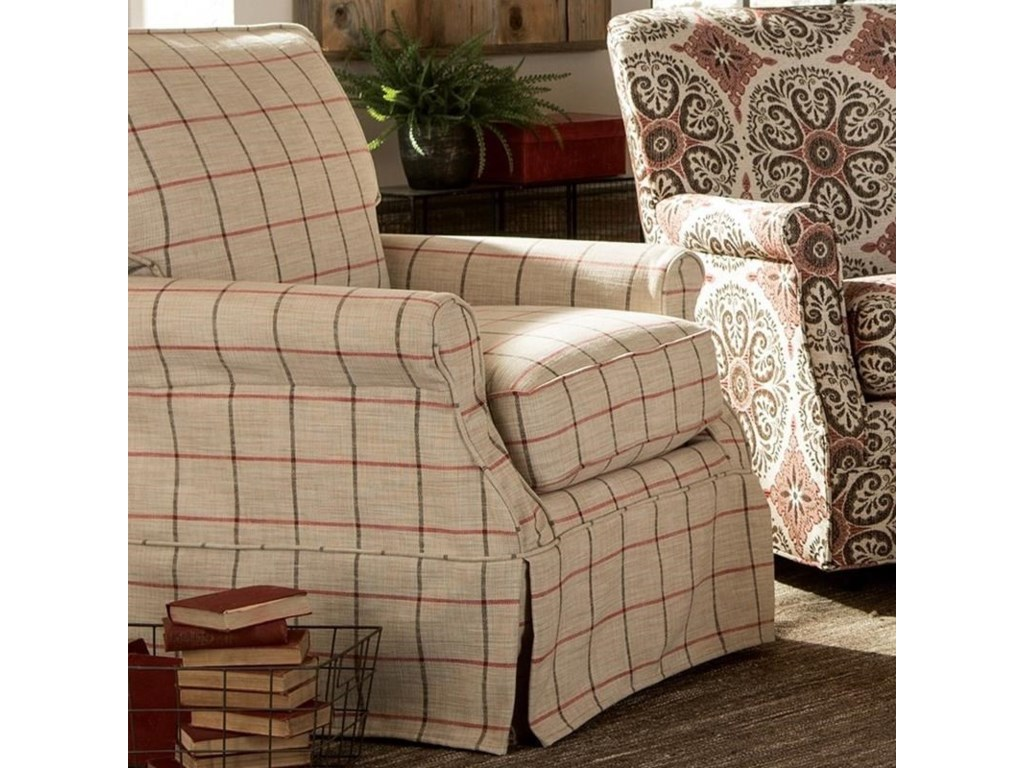 Craftmaster 971950Slipcover Chair