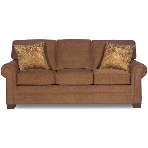 Craftmaster 9901 Transitional Three-Seater Sofa with Rolled Arms