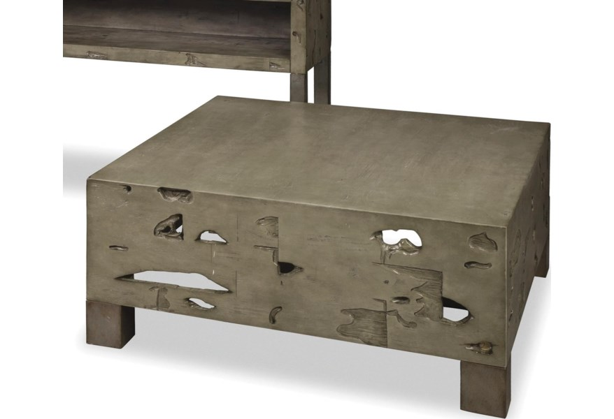 Craftmaster 991 Tables Ct 991 Rustic Weathered Gray Cocktail Table