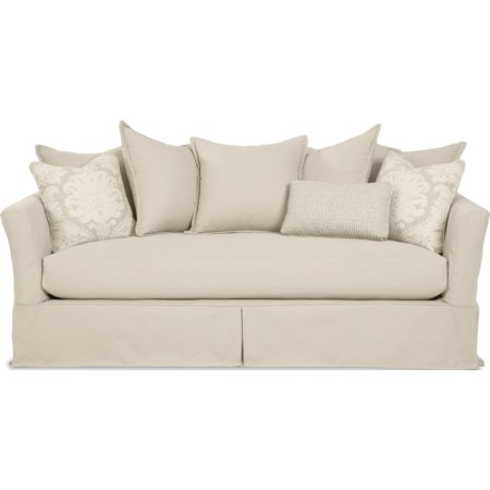 Bench Seat Sofa with Innerspring Sleeper