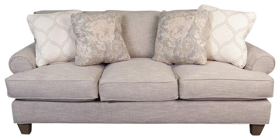 main madison belle paula deen plush sofa with accent pillows rh morrisathome com paula deen sofa by craftmaster paula deen sofa by craftmaster