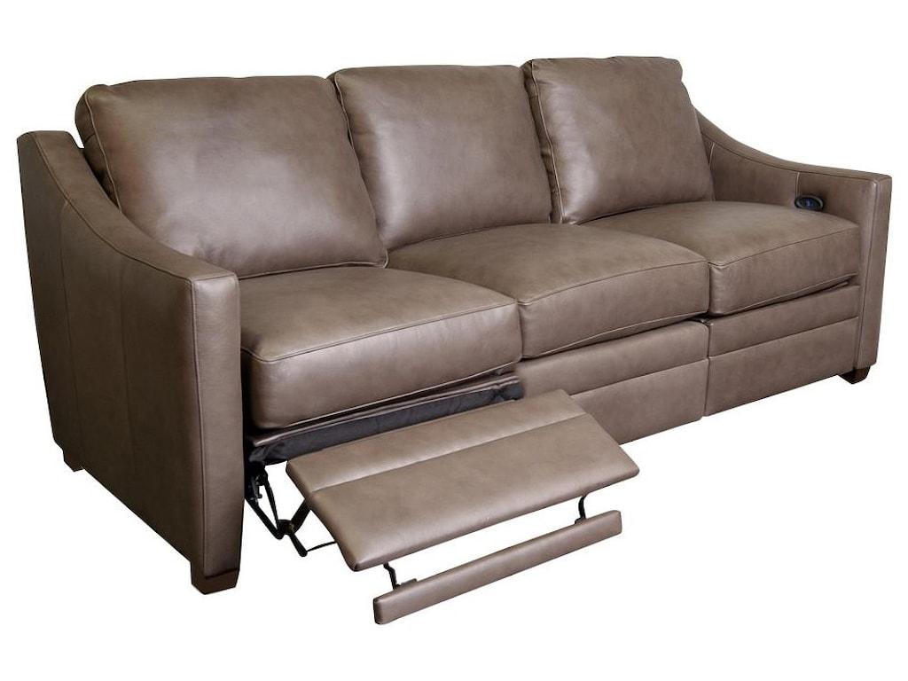 Craftmaster BjornBjorn Leather Match Power Sofa