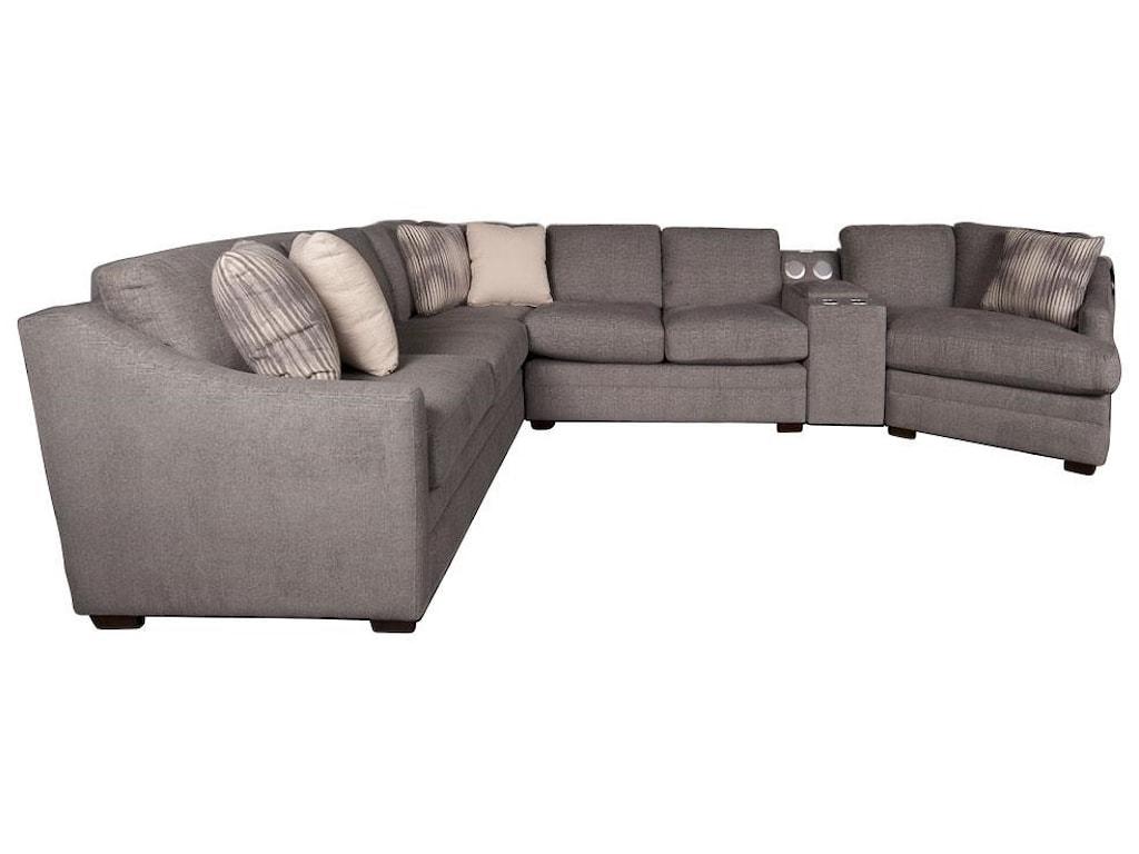 Main & Madison BjornBjorn Sectional Sofa