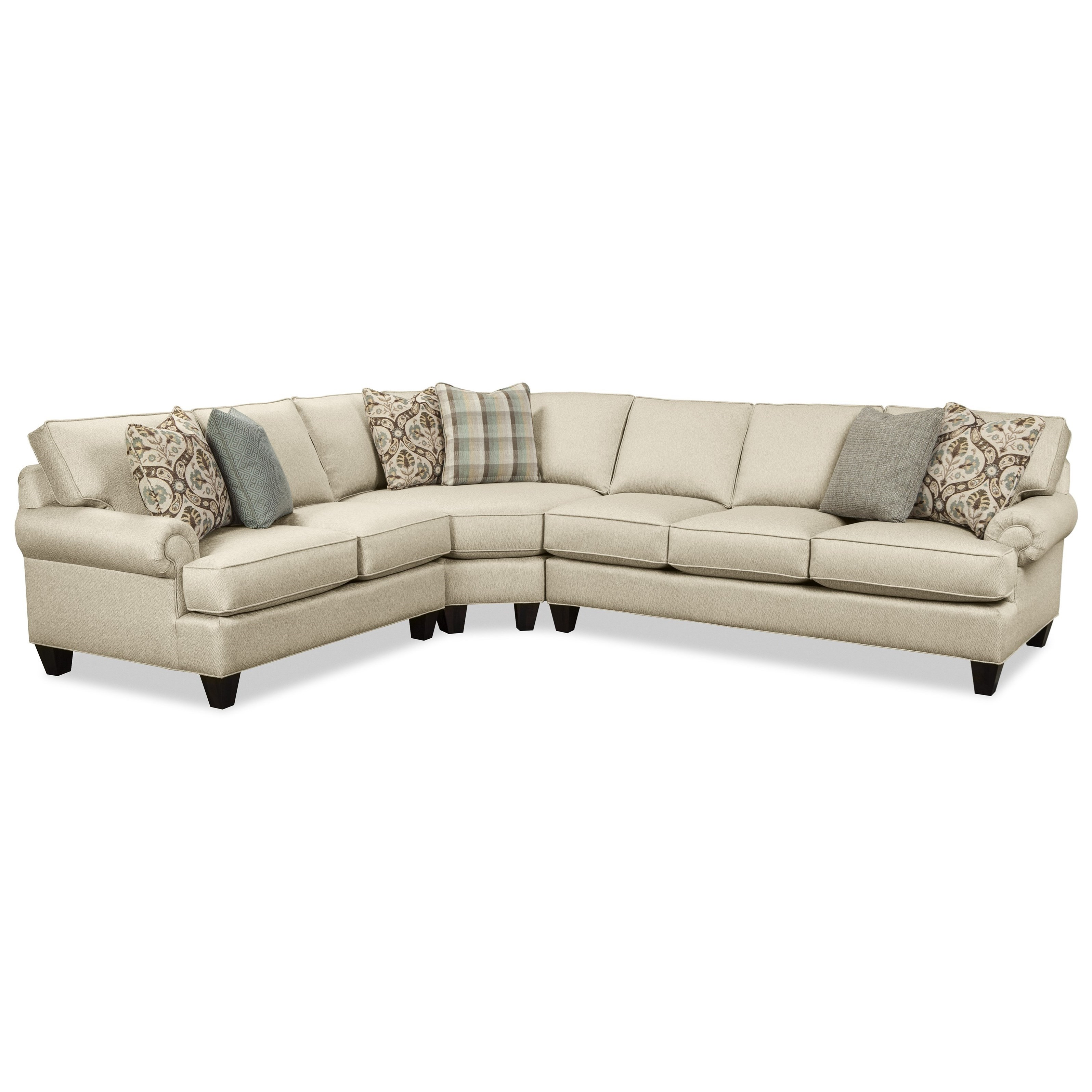 Craftmaster C9 Custom Collection3 Pc Sectional Sofa ...