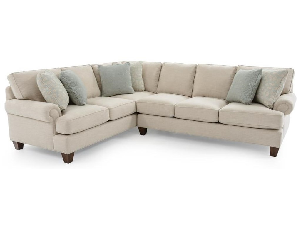 Craftmaster C9 Custom Collection2 Pc Custom Sectional Sofa