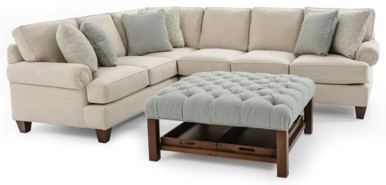 Craftmaster C9 Custom Collection2 Pc Custom Sectional Sofa