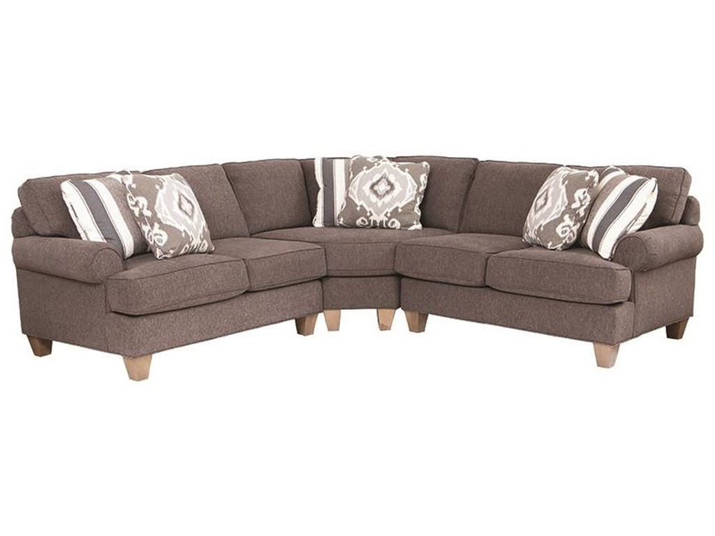 Craftmaster C9 Custom Collection3 Piece Sectional