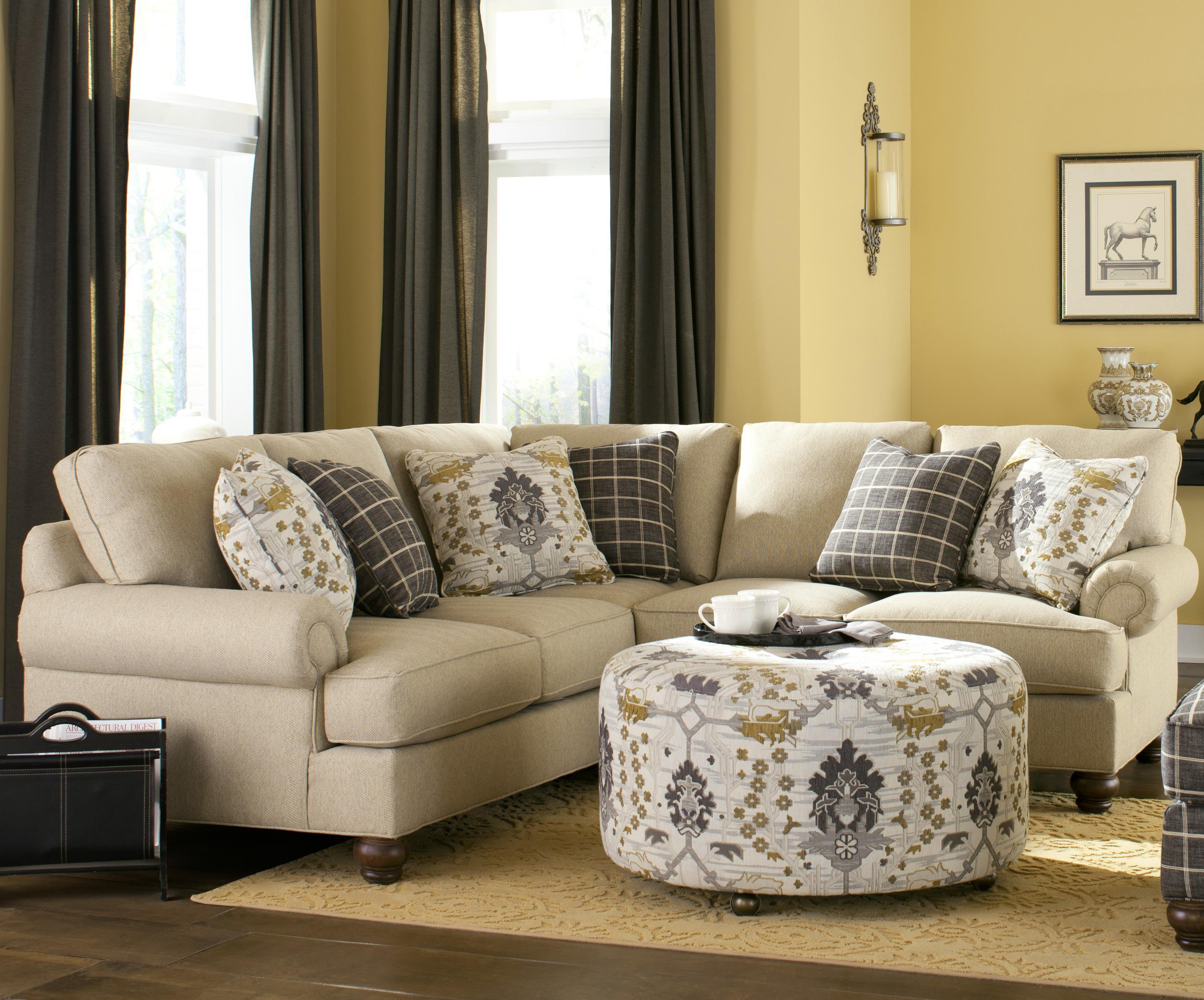 Attirant Craftmaster C9 Custom Collectionu003cbu003eCustomu003c/bu003e 2 Pc Sectional Sofa