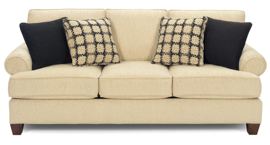 Craftmaster C9 Custom Collection b Customizable b 3 Seat Sofa