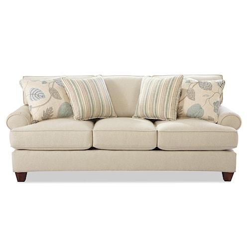 Craftmaster C9 Custom Collection <b>Customizable</b> 3 Seat Sofa